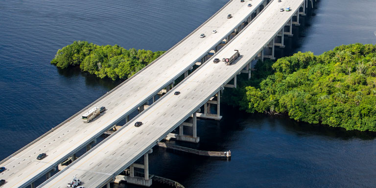 Caloosahatchee bridge widening project